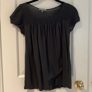 James Perse Gray Top Size 2